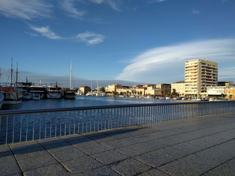 voetgangersbrug Zadar
