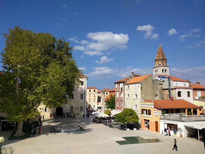 Petar Zoranić plein