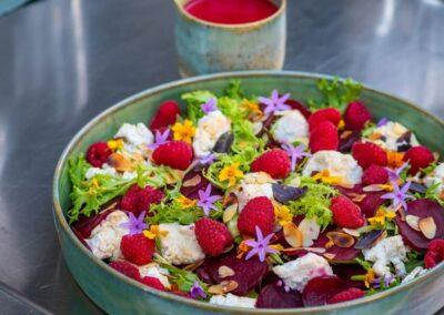 rode biet salade vegetarisch eten in Zadar