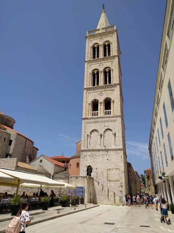toren kathedraal Zadar