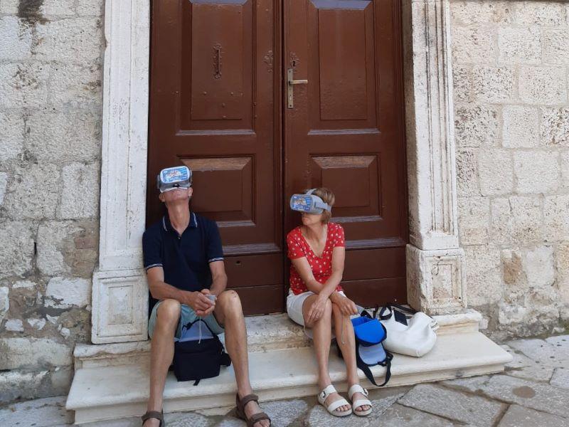 virtual reality tour Kathedraal Zadar