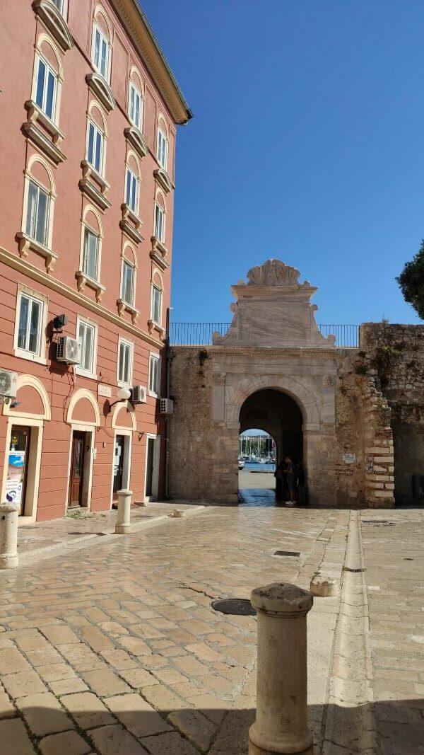 zeepoort Zadar stadskant