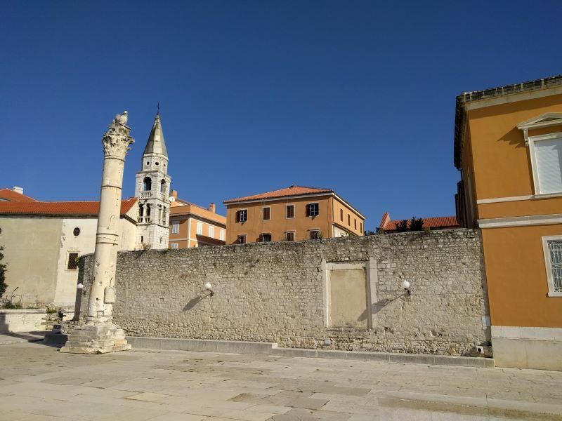 schandpaal Zadar