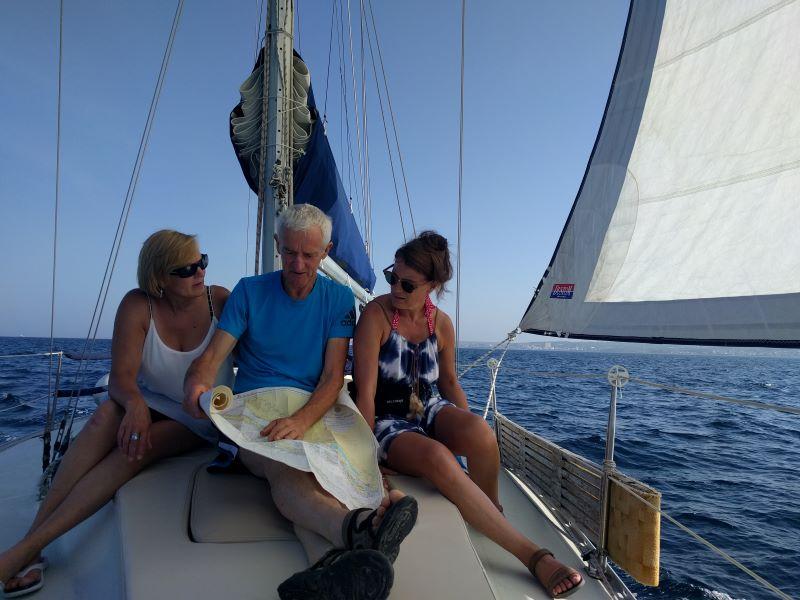 zeilen naar de Kornati eilanden