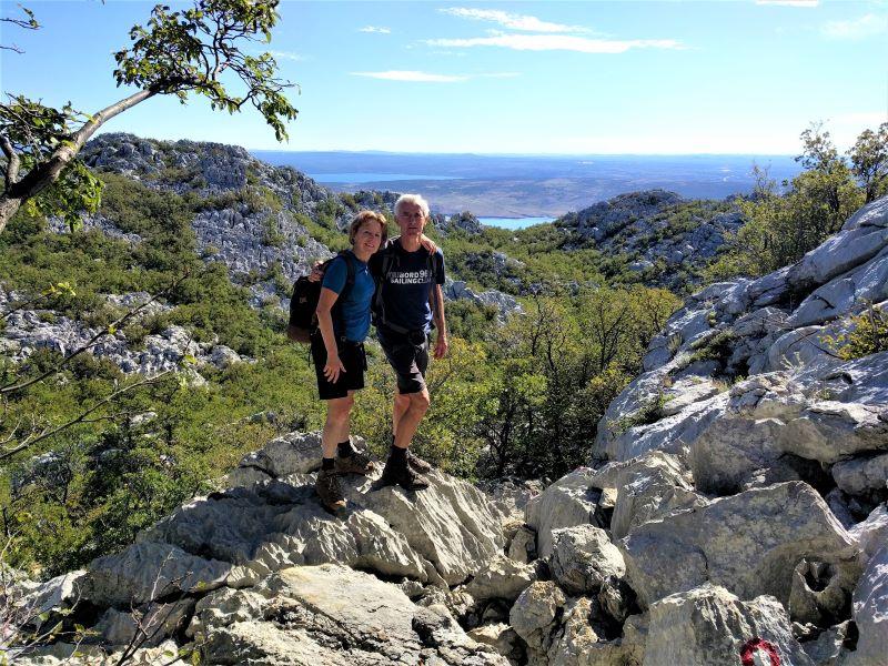 wandelen in Kroatië, Anica Kuk