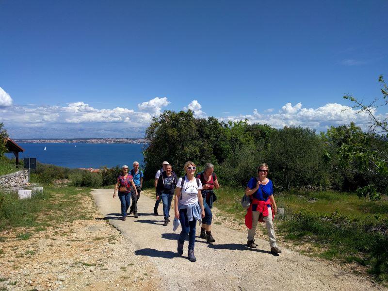 wandelen in Kroatië Ugljan