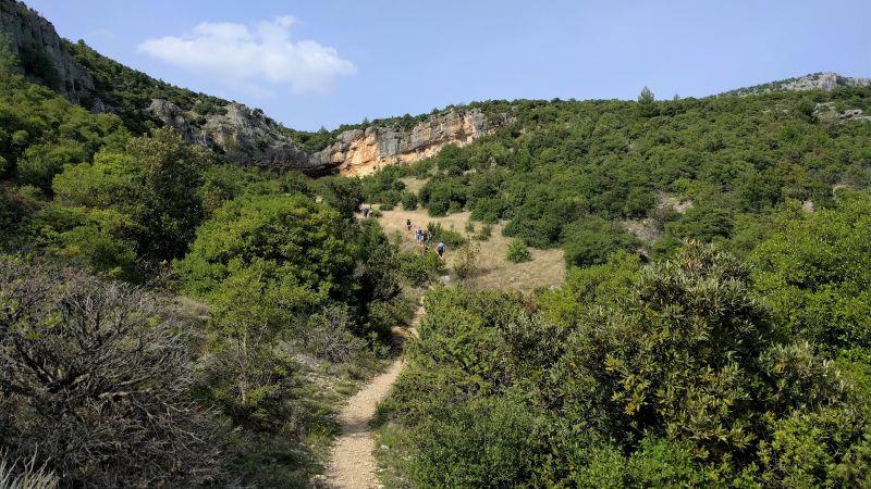 wandelweg naar de bron van Rijeka Bijela