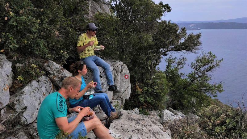 Vlamingen picknick in Kroatië