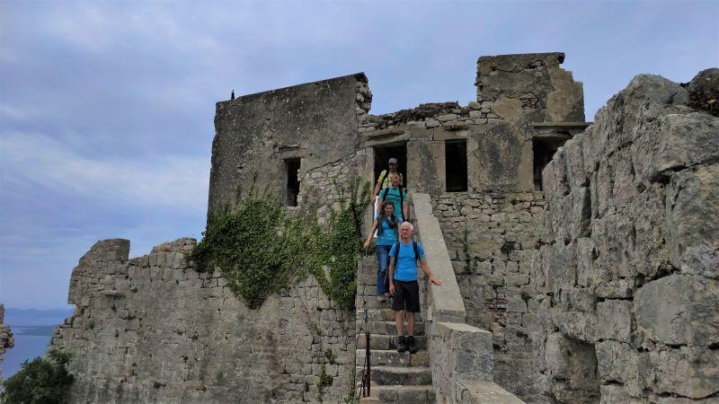 Venetiaans fort Ugljan, vlamingen in Kroatië