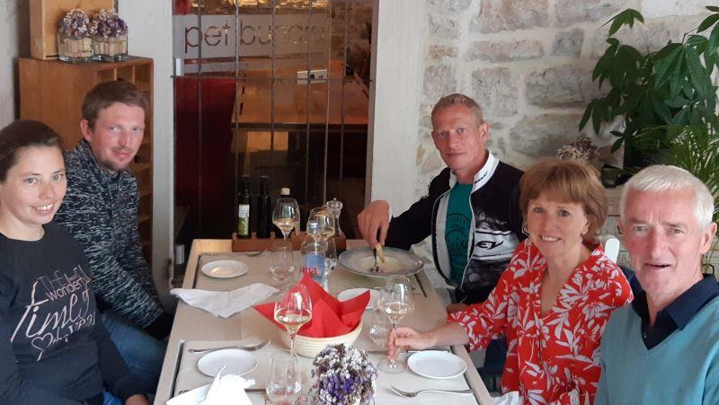 Belgen in Pet Bunara Kroatië