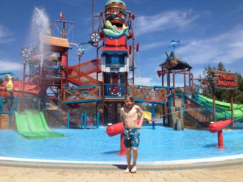 aquapark sibenik, vakantie met kinderen in Kroatië