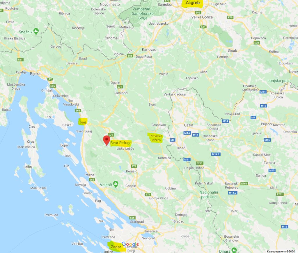 ligging en kaart Kuterevo