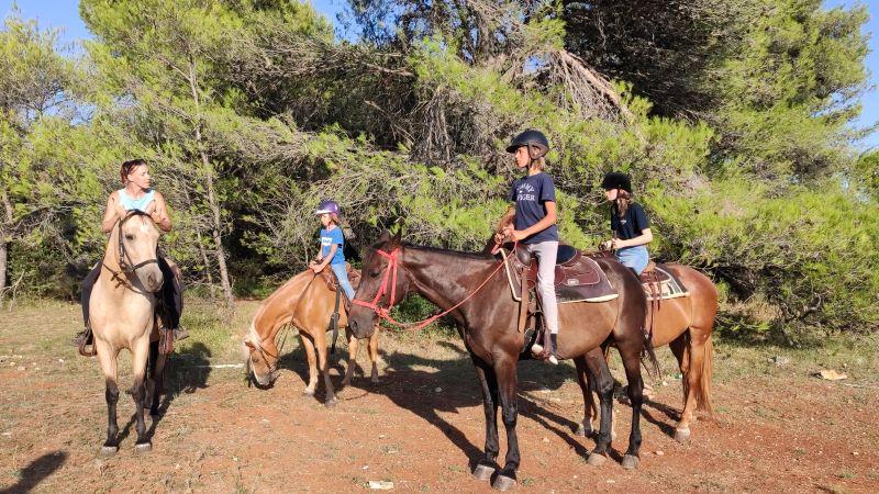 Paardrijden met Dijana in Zadar