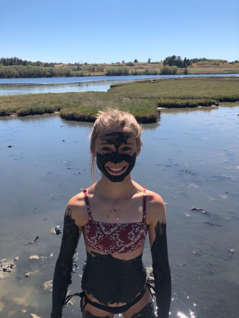 In de modder van Nin, vakantie kinderen Kroatië