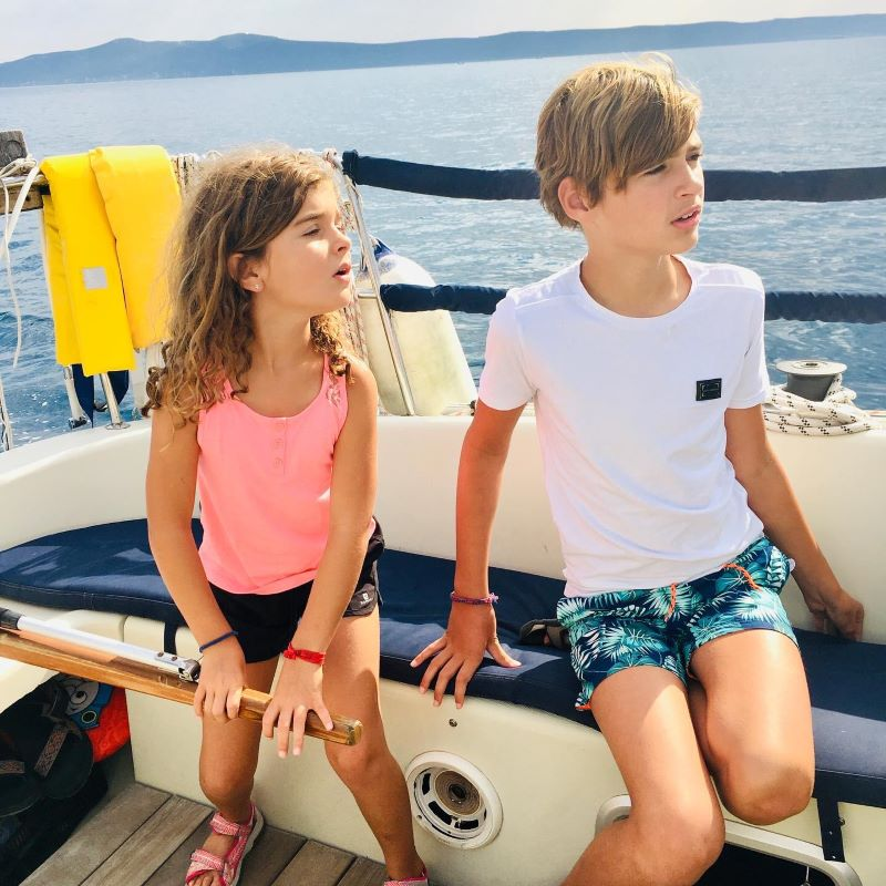 zeiltocht met kinderen, vakantie Kroatië