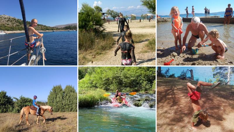 kinderen op vakantie in Kroatië tips