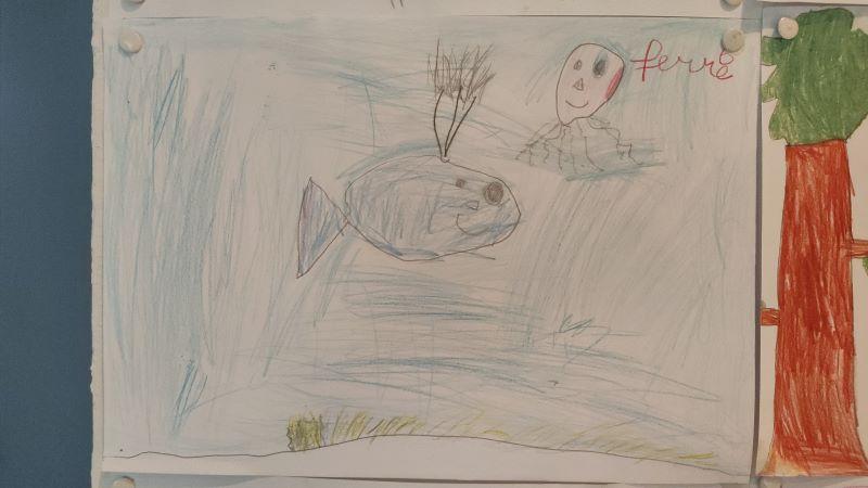 tekening van Ferre