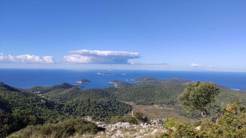 eiland Lastovo Hom
