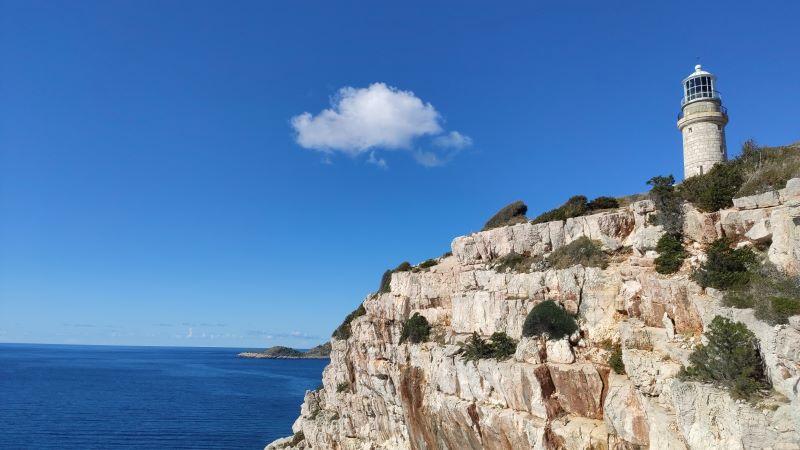 eiland Lastovo vuurtoren struga