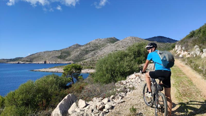 eiland lastovo fietstocht
