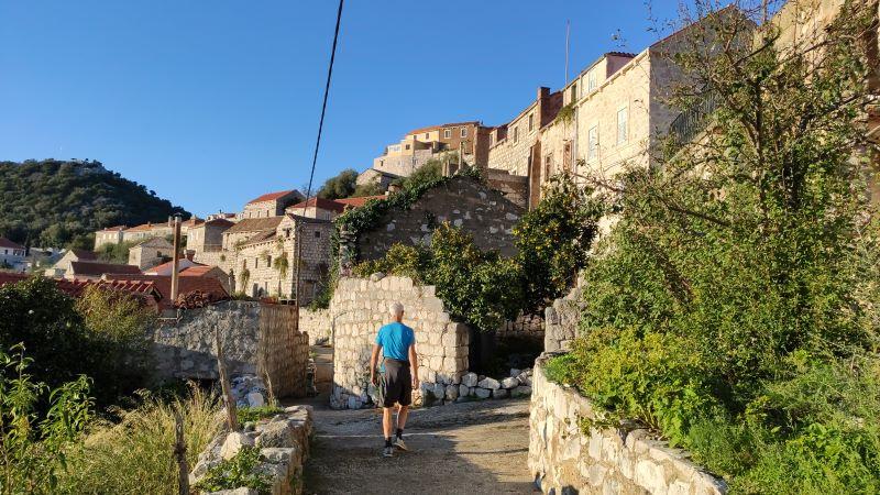 lastovo stenen trappen