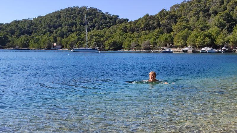 zwemmen in Pasadur