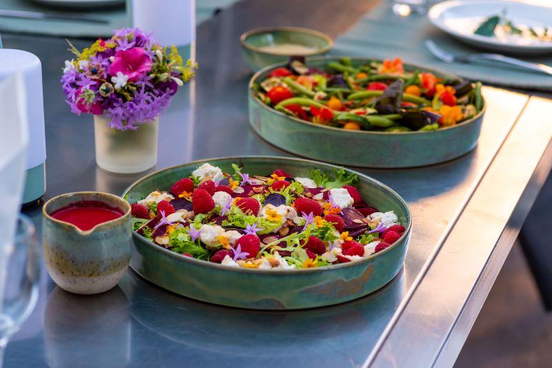 rode bietjes salade met frambozen