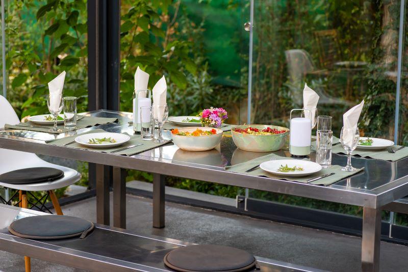 tafel voor vegetarisch eten in Zadar