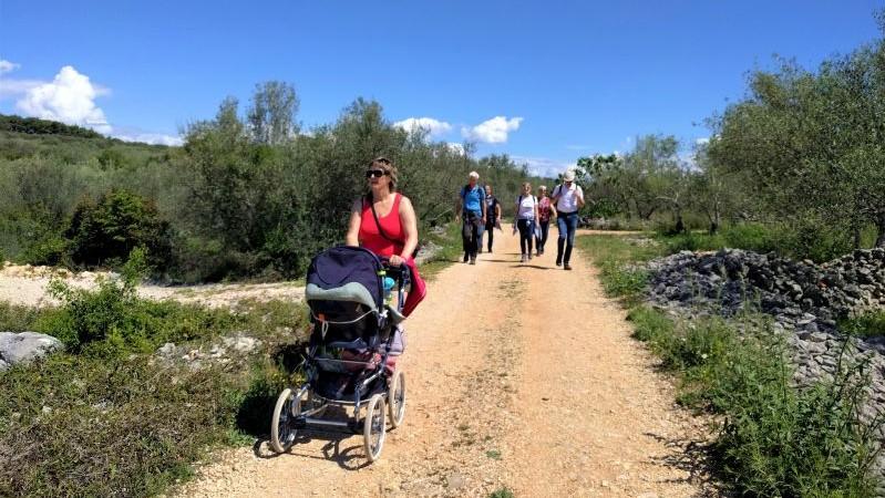 wandelen ik Kroatië met kinderen