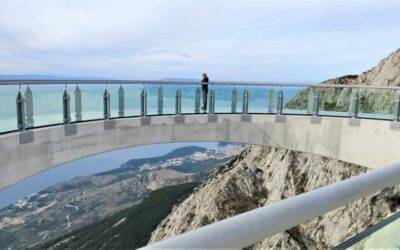 Skywalk Biokovo in de regio Split