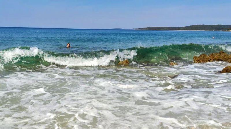 Tratica strand eiland Silba
