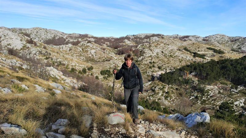 wandeling naar Vošac