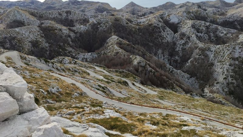 Biokovo weg naar Sv Jure