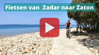fietsen zadar zaton