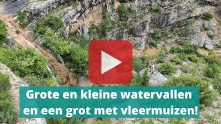 watervallen rijeka bijela
